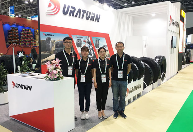 Yanchang Rubber Attending 2018 Dubai Automechanika Exhibition